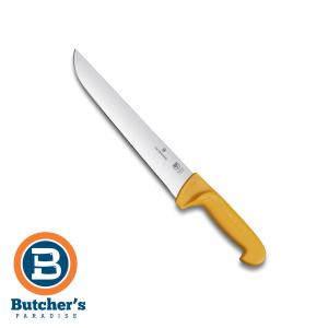 Butchers Straight Rigid Knife